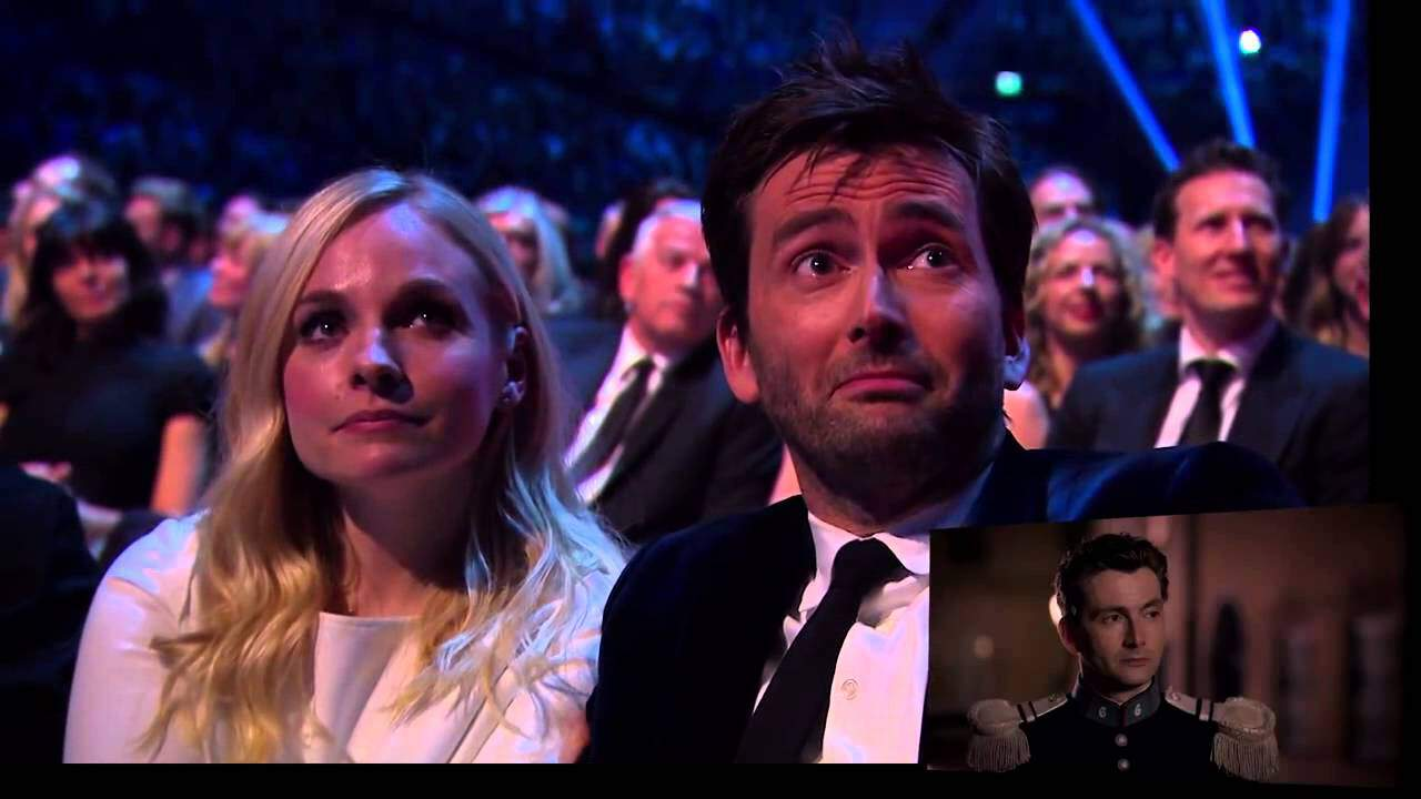 David Tennant's NTA Recognition Award Reaction: Absolutely Charming