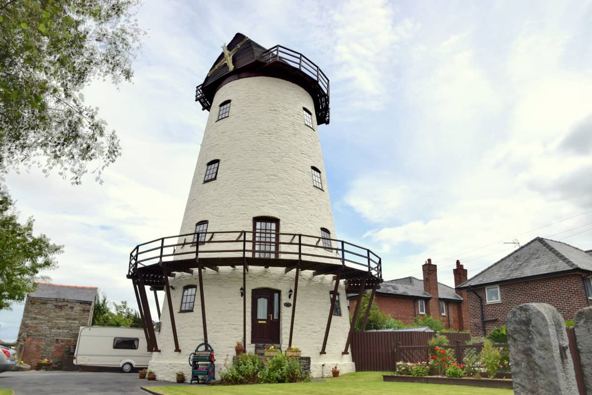 British Windmill Homes for Living Out Your Wildest Jonathan Creek Fantasies