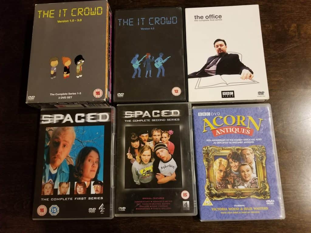 In the Mailbox #1: Spaced, Acorn Antiques, The Office, The IT Crowd 2