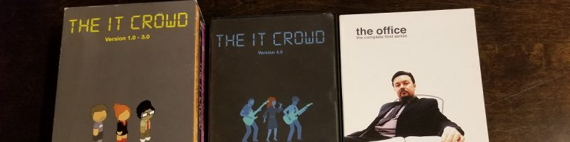 In the Mailbox #1: Spaced, Acorn Antiques, The Office, The IT Crowd
