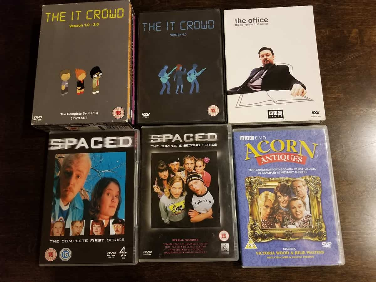 In the Mailbox #1: Spaced, Acorn Antiques, The Office, The IT Crowd 1
