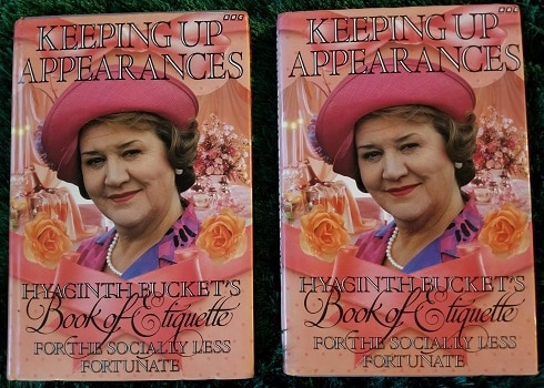 Giveaway: Hyacinth Bucket's Book of Etiquette for the Socially Less Fortunate 3