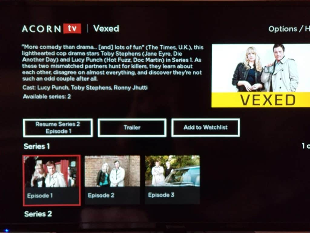 Hate the New Acorn TV Interface? There's a Simple Fix. 3