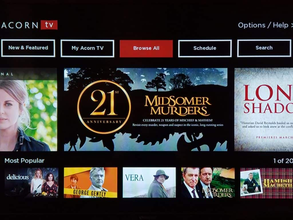 Hate the New Acorn TV Interface? There's a Simple Fix. 1