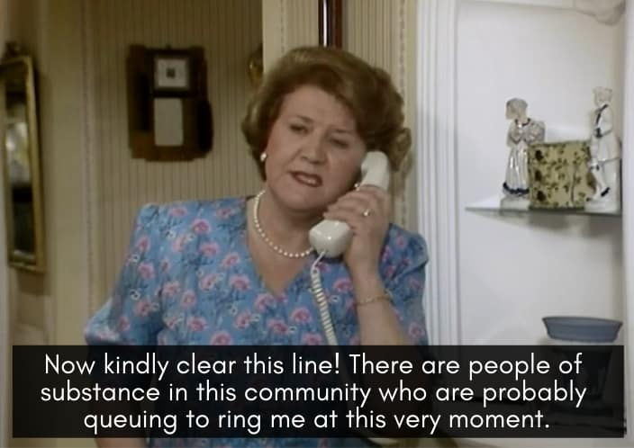 The Top 20 Hyacinth Bucket Quotes from Keeping Up Appearances 7