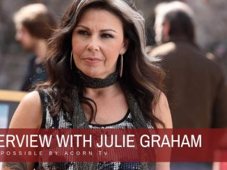 Interview with Julie Graham of Queens of Mystery 22