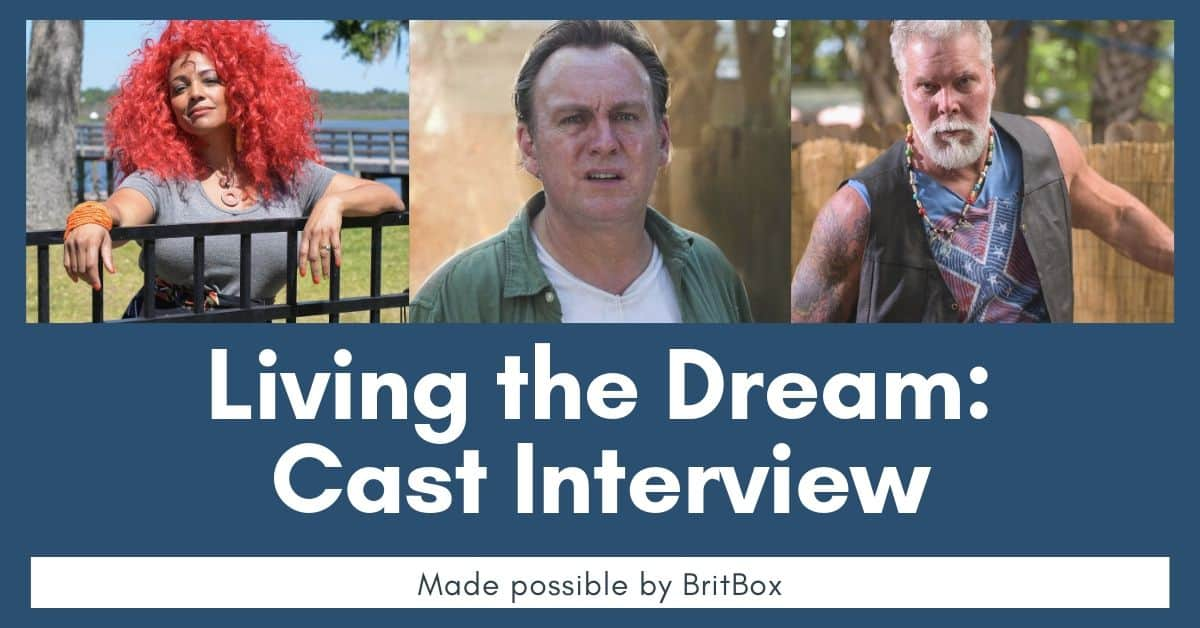 Living the Dream: Interview With Philip Glenister, Kevin Nash, and Kim Fields 4