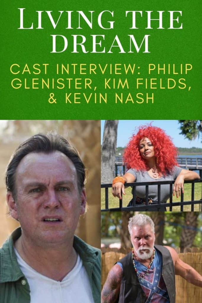 Living the Dream: Interview With Philip Glenister, Kevin Nash, and Kim Fields 6