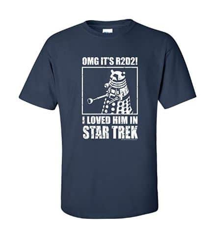 12 Fun & Funny Doctor Who T-Shirts for British TV Fans 5