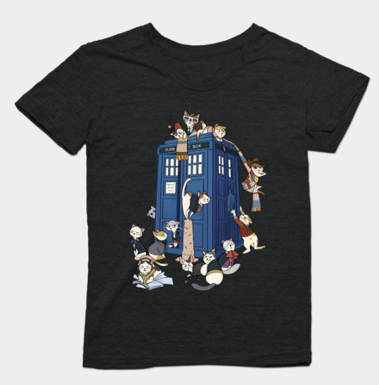 12 Fun & Funny Doctor Who T-Shirts for British TV Fans 7