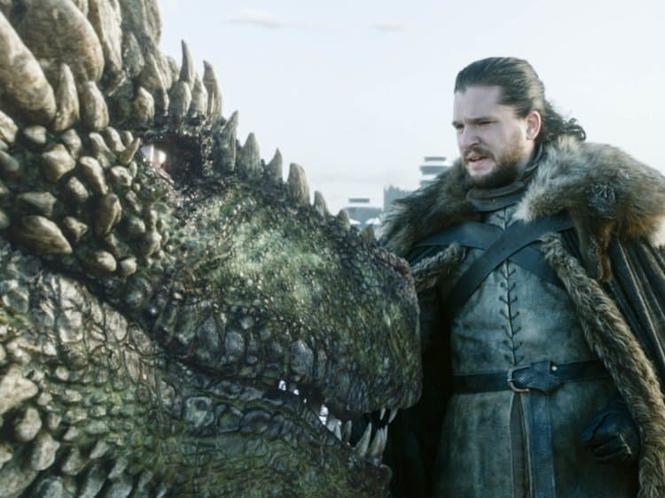 The Game of Thrones Dragons 4