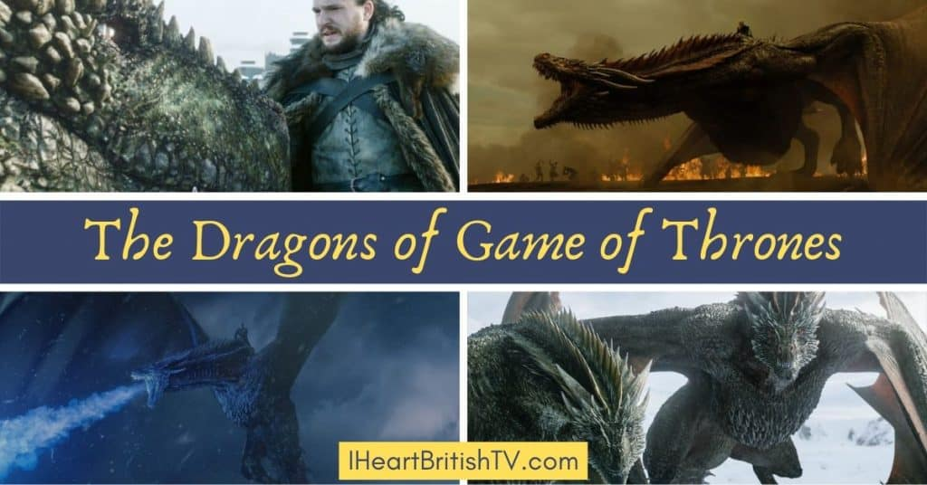 The Game of Thrones Dragons 1