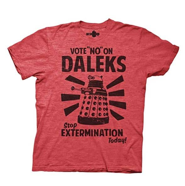 12 Fun & Funny Doctor Who T-Shirts for British TV Fans 10