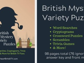Free British Mystery-Themed Variety Puzzles (A Printable!) 88