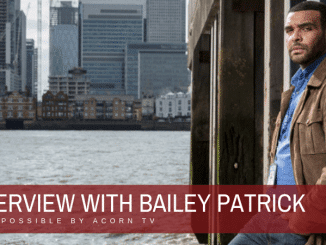 Interview with Bailey Patrick of London Kills 1