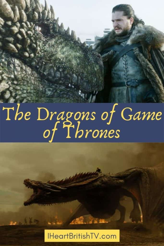 The Game of Thrones Dragons 6