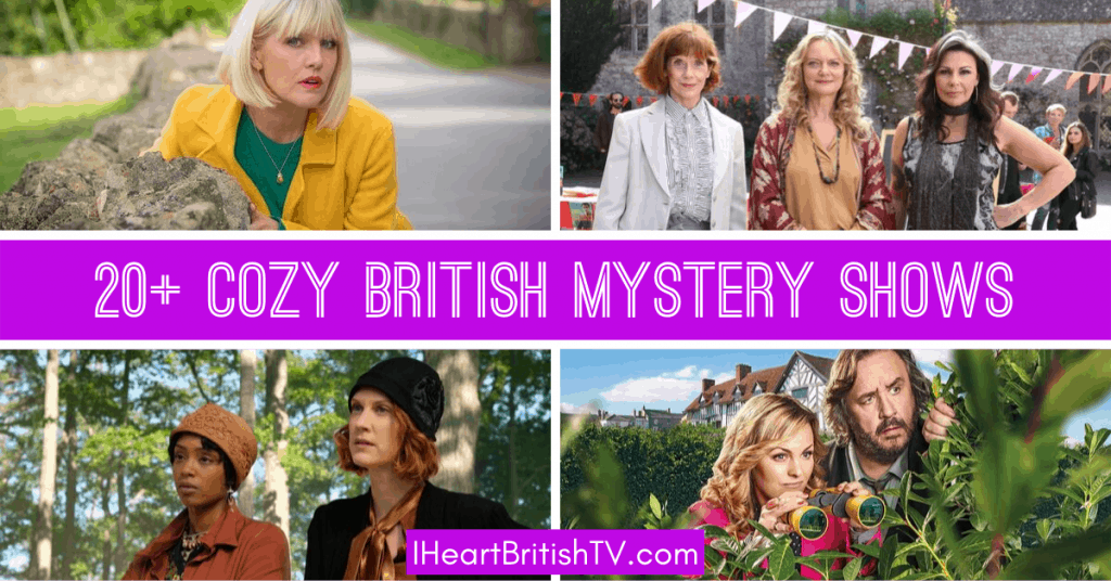 cozy mystery tv shows that are british