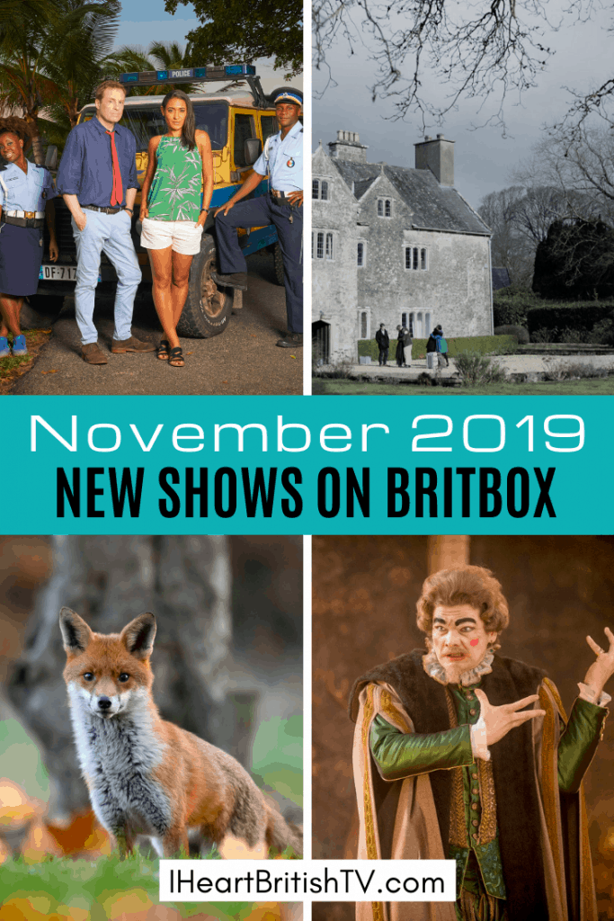 New British TV Shows on BritBox: November 2019 Premieres 10