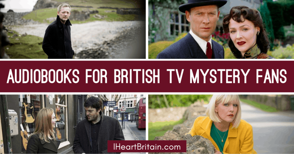 The Best Audiobooks for British TV Mystery Fans 1