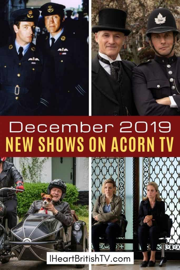New shows on Acorn TV in December 2019