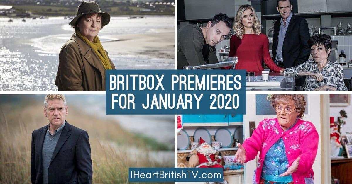 BritBox Premieres: What's New on BritBox in January 2020? 1