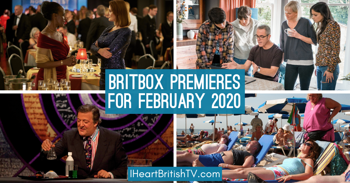 New Shows on BritBox February 2020