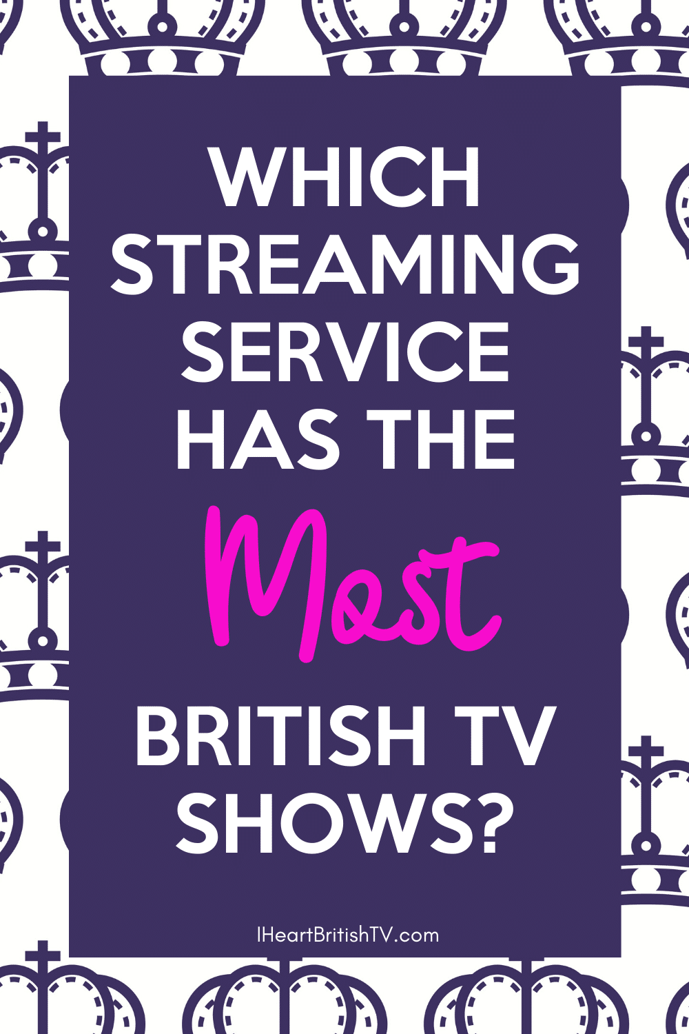 Which US Streaming Service Has the Most British TV Shows? 14