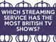 Which US Streaming Service Has the Most British TV Shows? 200