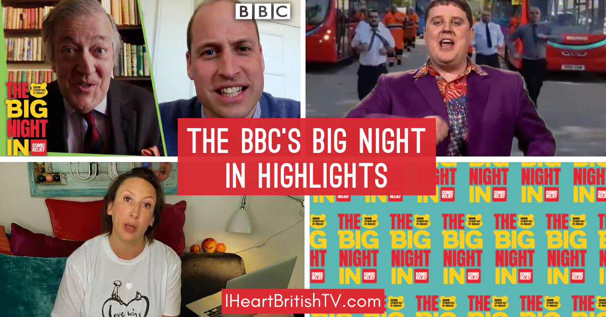 Watch the Sketches From the BBC's Big Night In 1