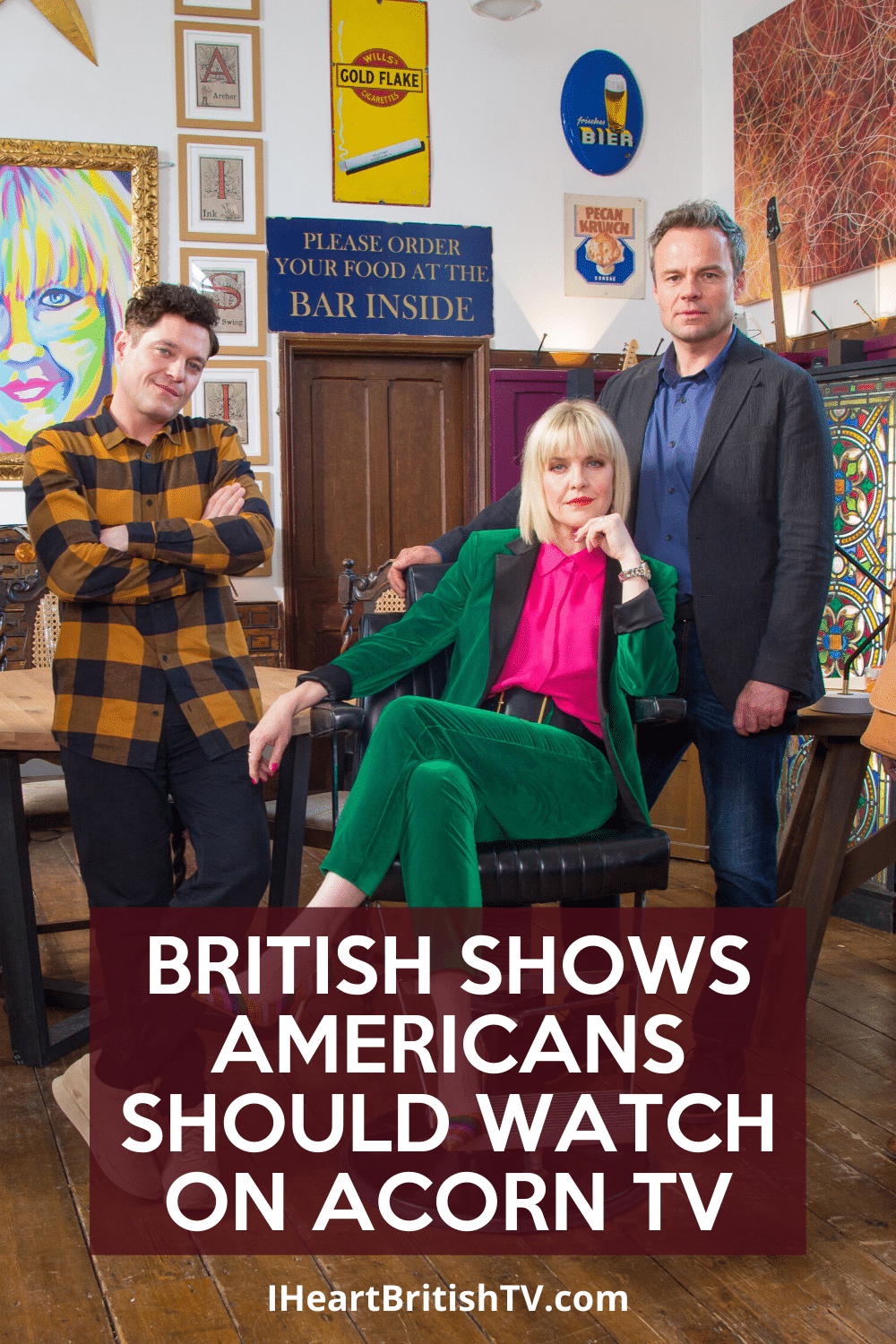 best shows on acorn tv for americans and canadians pin
