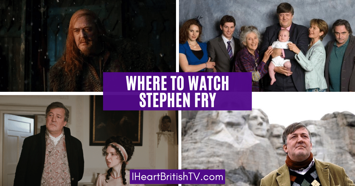 Stephen Fry Movies & TV Shows + Where to Watch Them 1