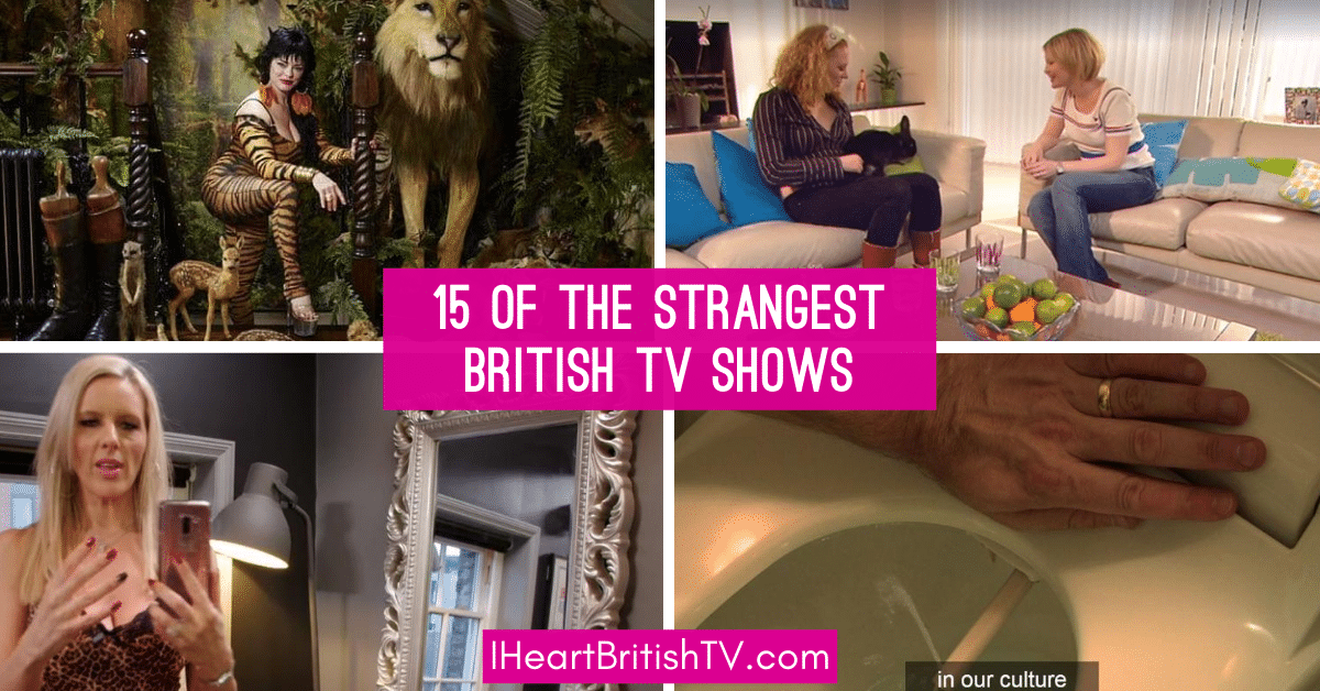 15 of the Weirdest, Most Unusual British TV Shows You Can Stream 1