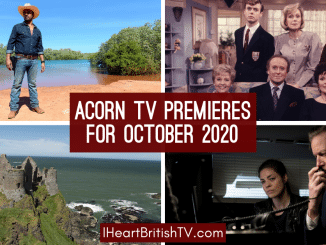new shows on acorn tv in october 2020