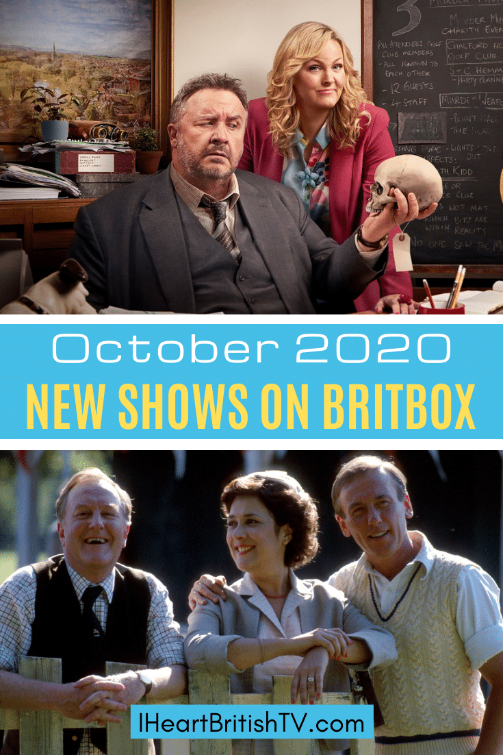 BritBox October Premieres: What's New on BritBox in October 2020? 10