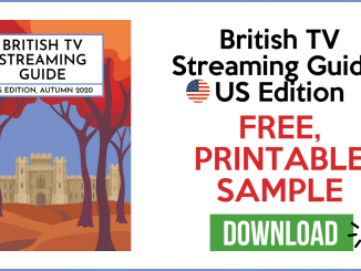 Free Printable Guide to British TV Shows on Netflix 5