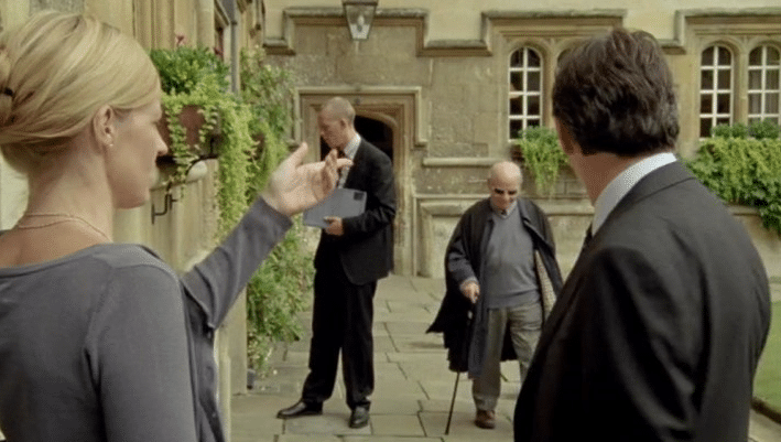 Colin Dexter Cameo Appearance