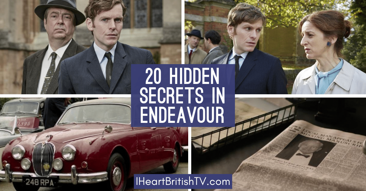 20 Hidden Secrets You May Have Missed in Endeavour 1