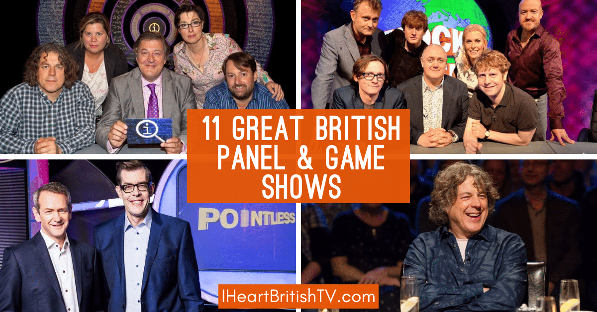 British comedy panel shows and game shows