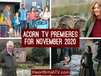 November British TV Premieres: What's New on Acorn TV for November 2020? 2