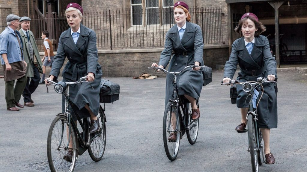 call the midwife bicycles
