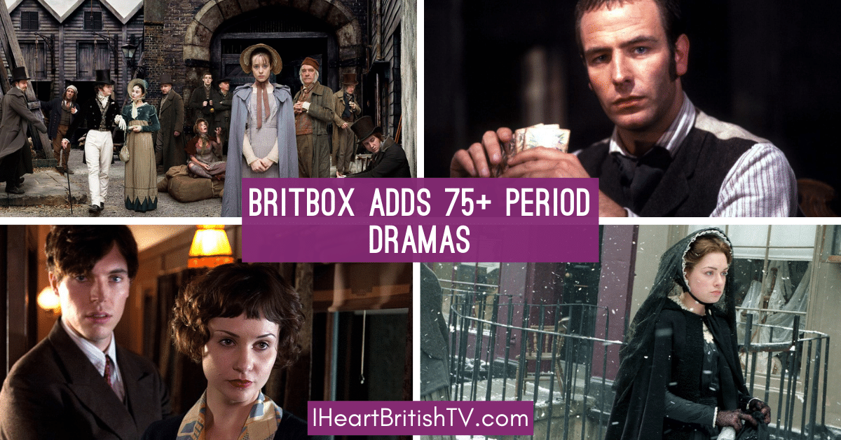 BritBox to Add 75+ British Period Dramas in December 2020 1