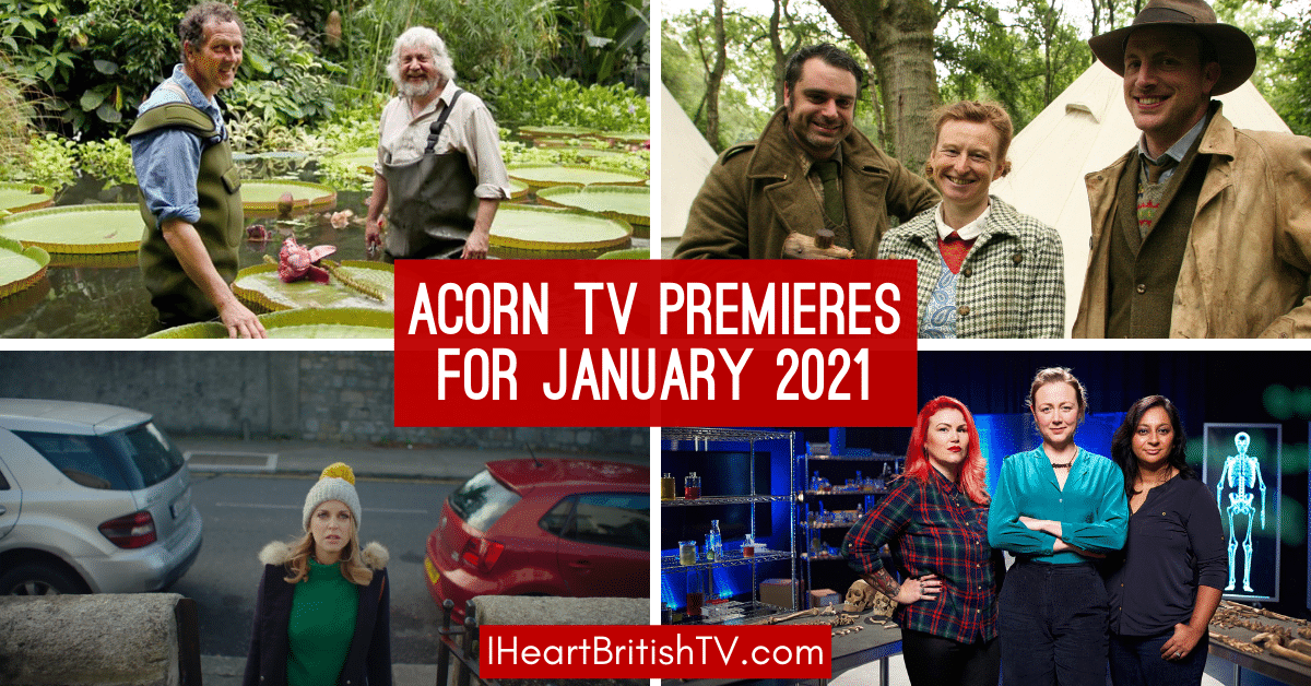 January British TV Premieres: What's New on Acorn TV for January 2021? 1