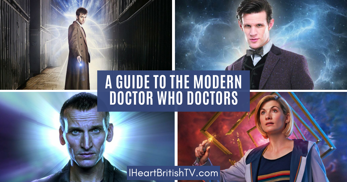 A Guide to the Modern Doctor Who Doctors 1