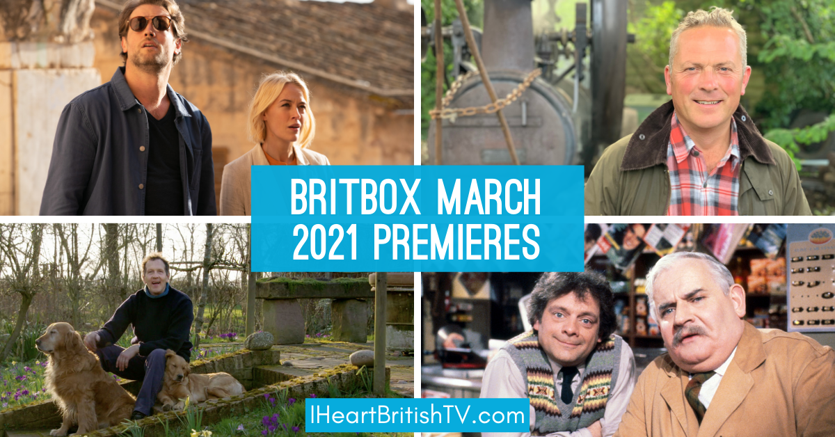 what's new on britbox - march premieres header