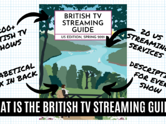 What is the British TV Streaming Guide: US Edition, Spring 2021? A Closer Look... 30