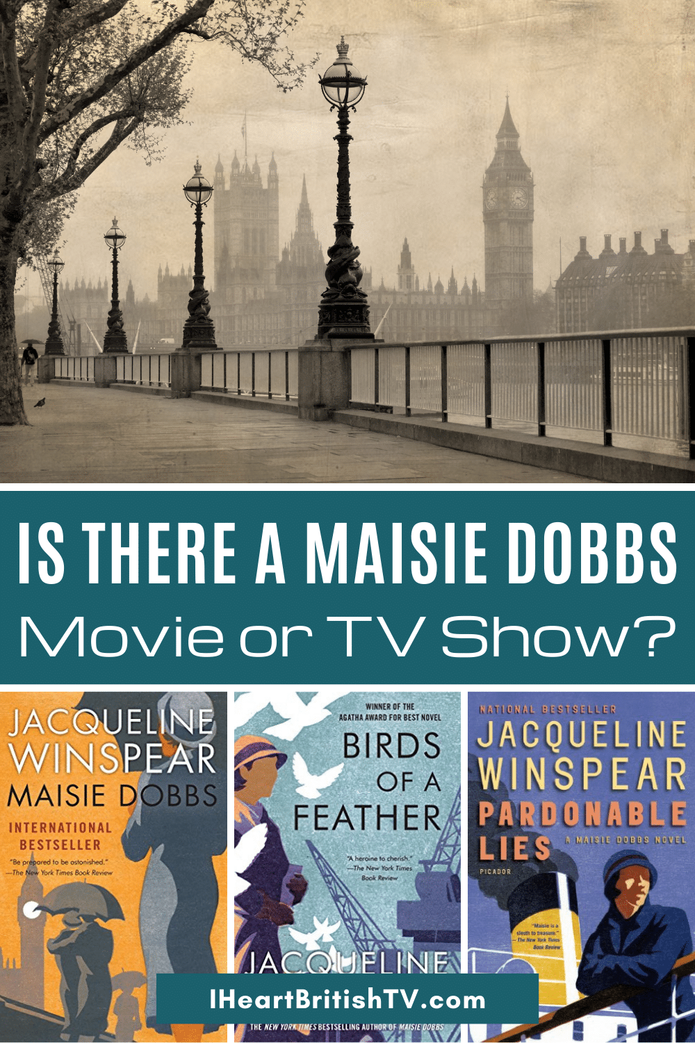 Is There a Maisie Dobbs Movie or TV Series? 2