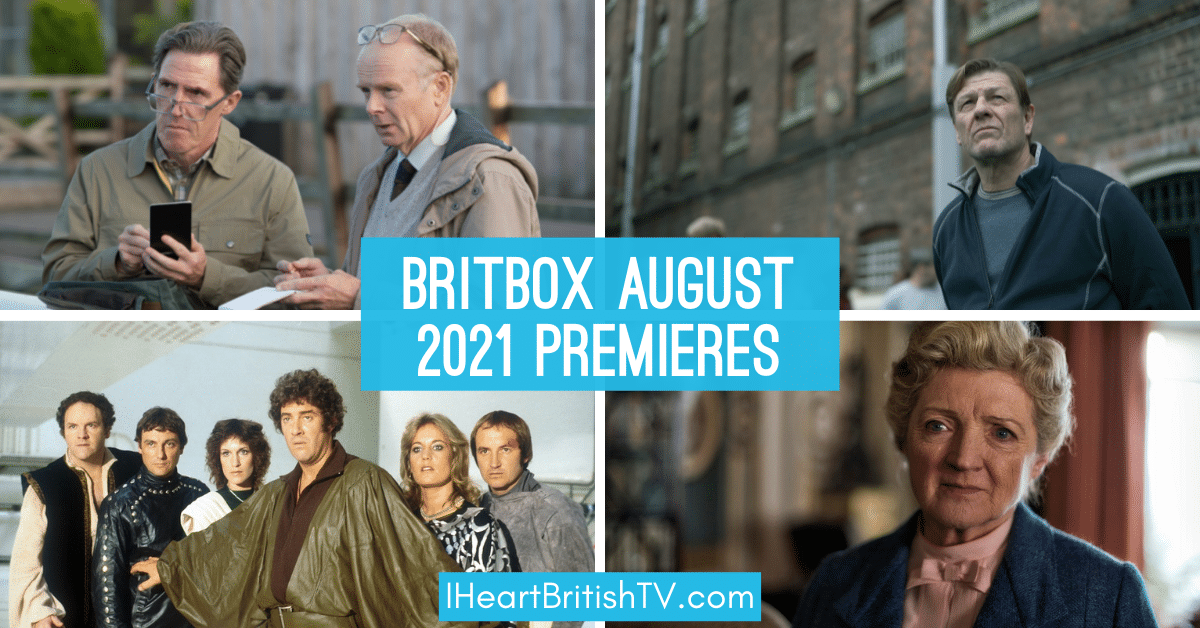 BritBox August Premieres: What's New on BritBox in August 2021? 1