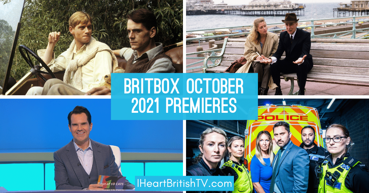 BritBox October Premieres: What's New on BritBox in October 2021? 1
